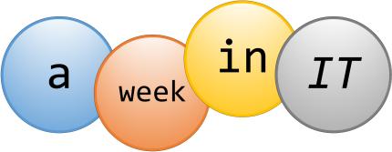 a week in IT